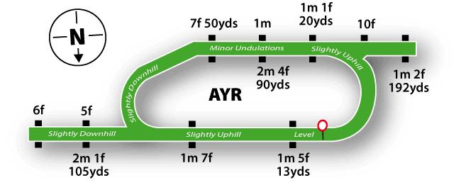 Ayr Racecourse Map