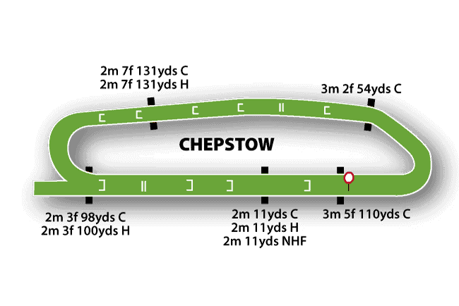 Chepstow Jumps Map