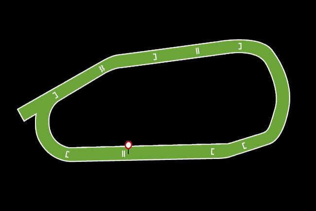 Huntingdon Racecourse Map