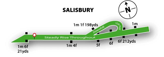 Salisbury Racecourse Map