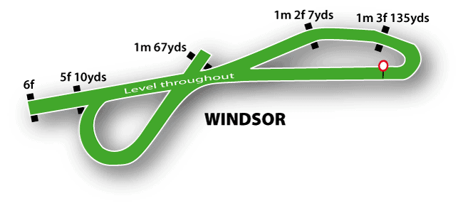 Windsor Racecourse Map