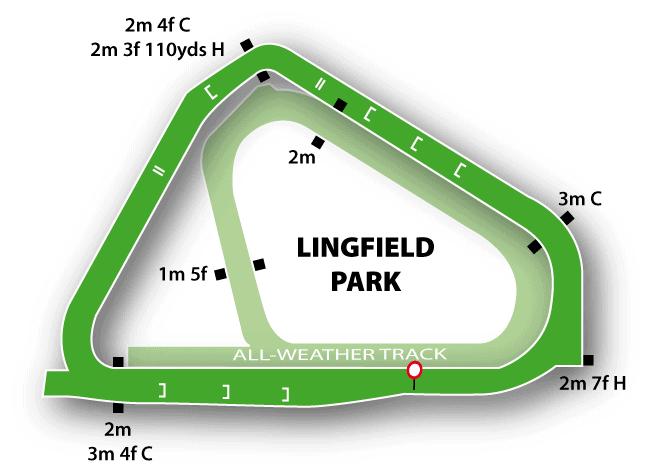 Lingfield Jumps Track