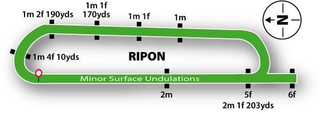 Ripon Racecourse Map