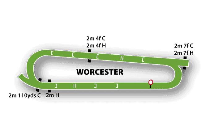 Worcester Races Map