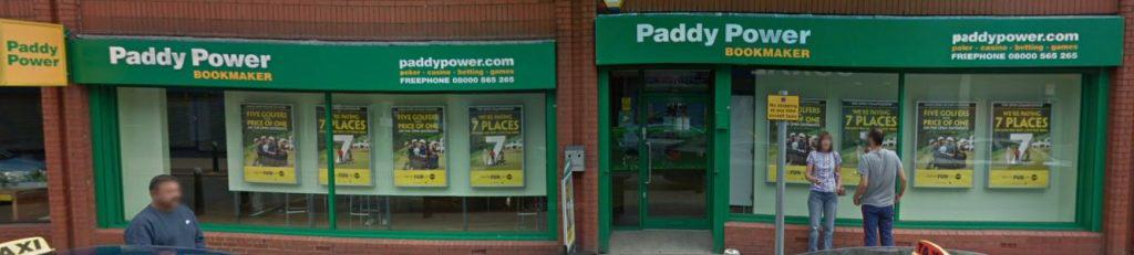Paddy Power Betting Shop Accrington Union Street