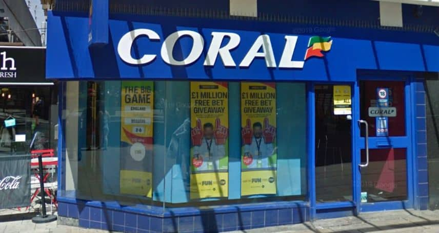Coral Betting Shop Coventry Hertford Street