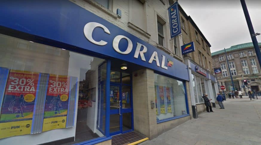 Coral Betting Shop Huddersfield Kirkgate