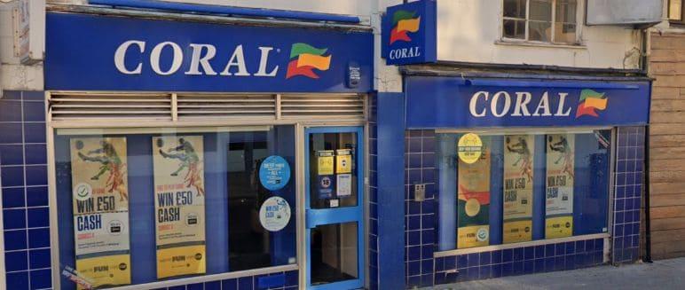 Coral Betting Shop Southampton Bedford Place
