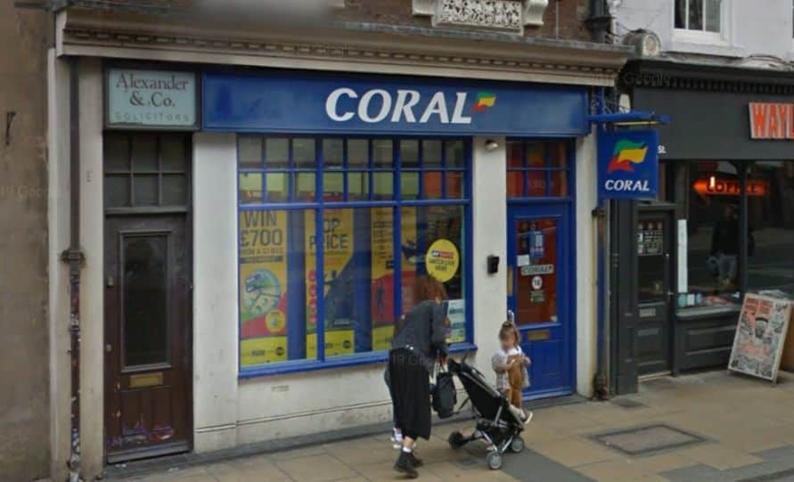 Coral Betting Shop Worcester Foregate Street