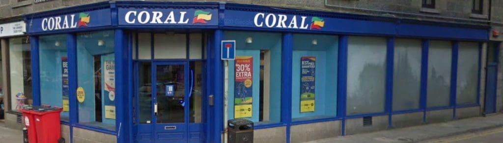 Coral Betting Shop Aberdeen George Street