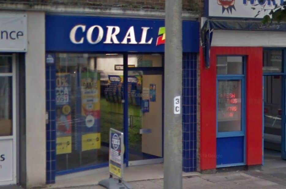 Coral Betting Shop Plymouth Cornwall Street