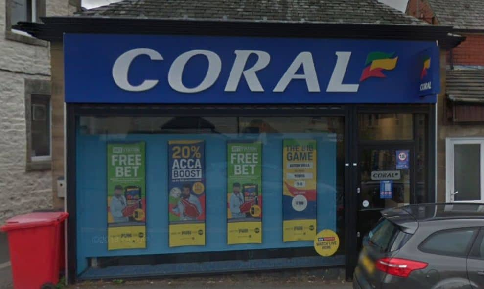 Coral Betting Shop Lancaster Coulston Road