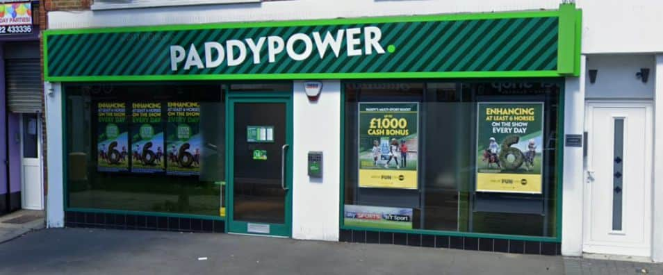 Paddy Power Betting Shop Belvedere Nuxley Road