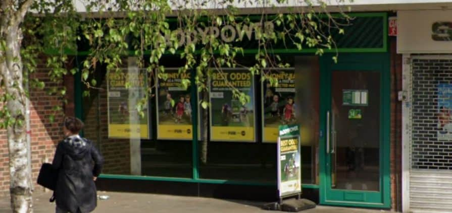 Paddy Power Betting Shop Brentford High Street