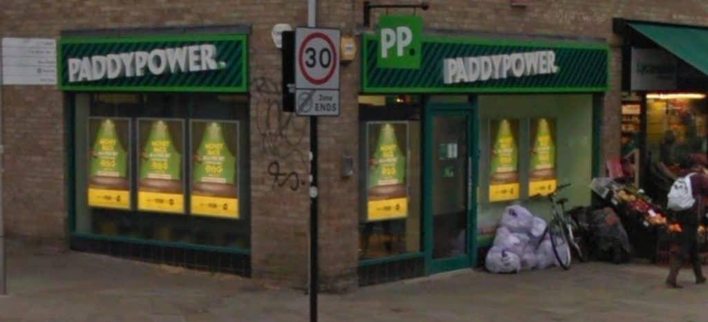 Paddy Power Betting Shop Canterbury Dunstan's Street