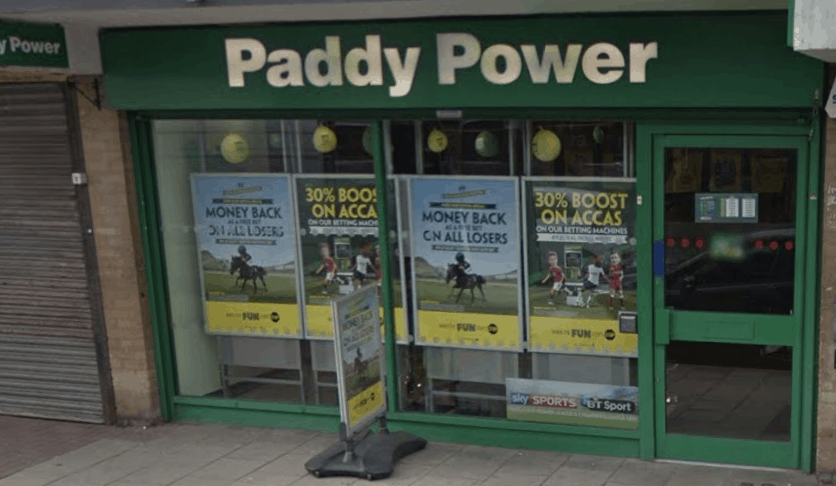 Paddy Power Betting Shop Corringham St Johns Way