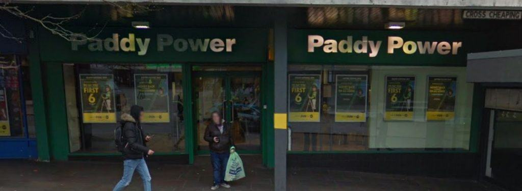 Paddy Power Betting Shop Coventry Cross Cheaping
