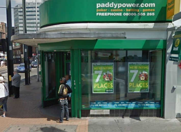 Paddy Power Betting Shop Croydon North End