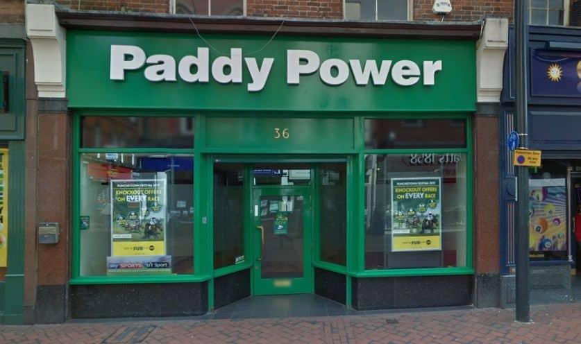 Paddy Power Betting Shop Derby Corn Market