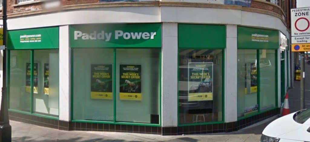 Paddy Power Betting Shop Doncaster Market Place