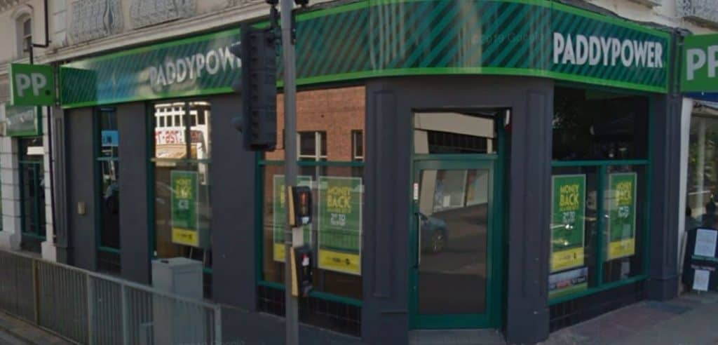 Paddy Power Betting Shop Eastbourne Terminus Road