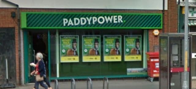 Paddy Power Betting Shop Folkestone Cheriton High Street