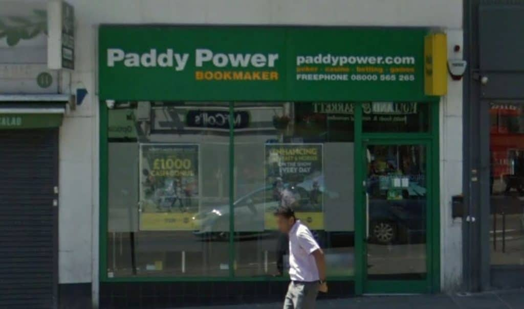 Paddy Power Betting Shop Greenford The Broadway
