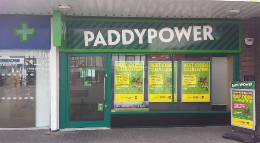 Paddy Power Betting Shop Hoddesdon Fawkon Walk