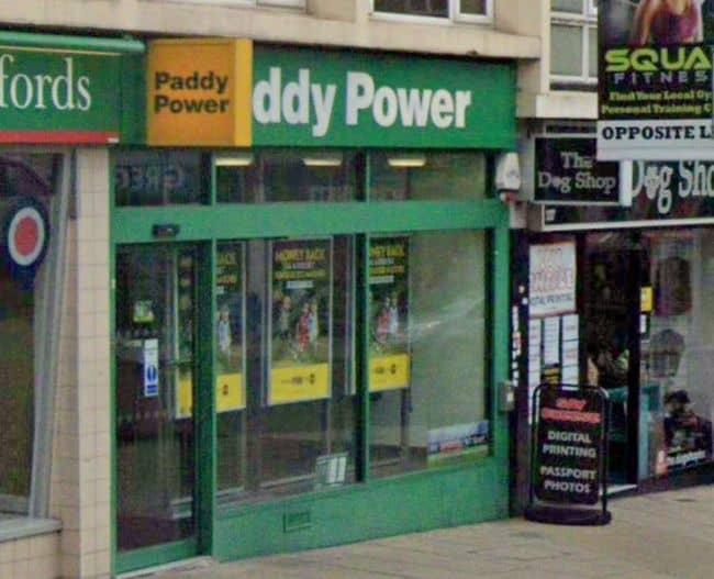 Paddy Power Betting Shop Hornchurch High Street
