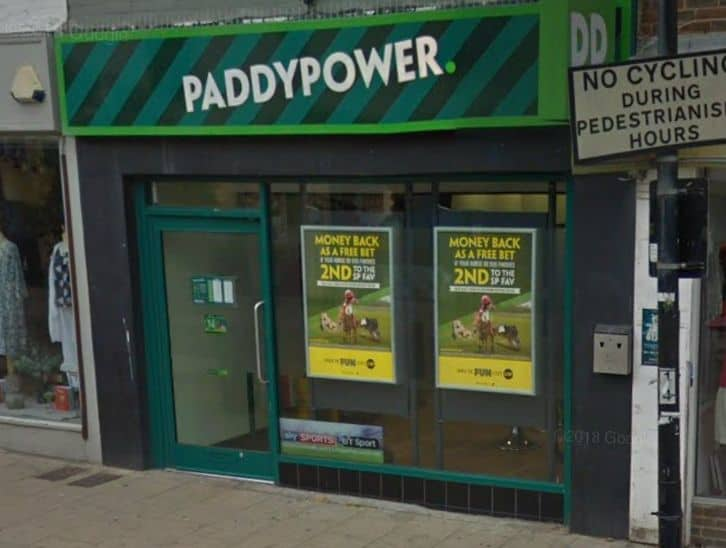 Paddy Power Betting Shop Hove George Street