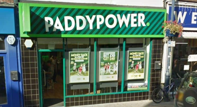 Paddy Power Betting Shop Lincolnshire West Street