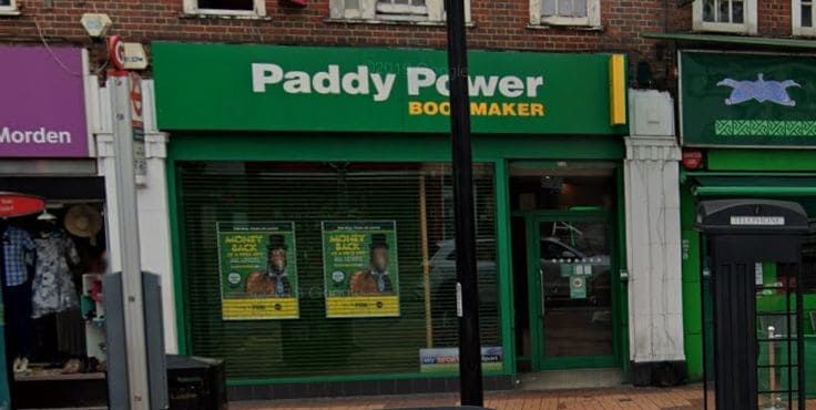 Paddy Power Betting Shop Morden London Road