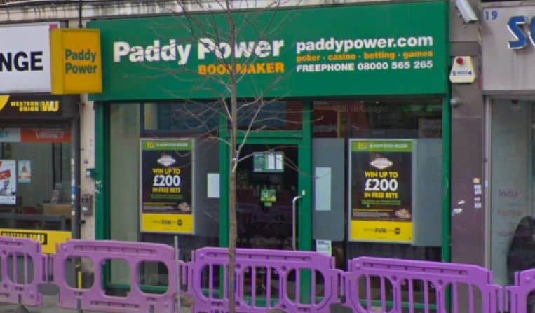 Paddy Power Betting Shop Southall South Road