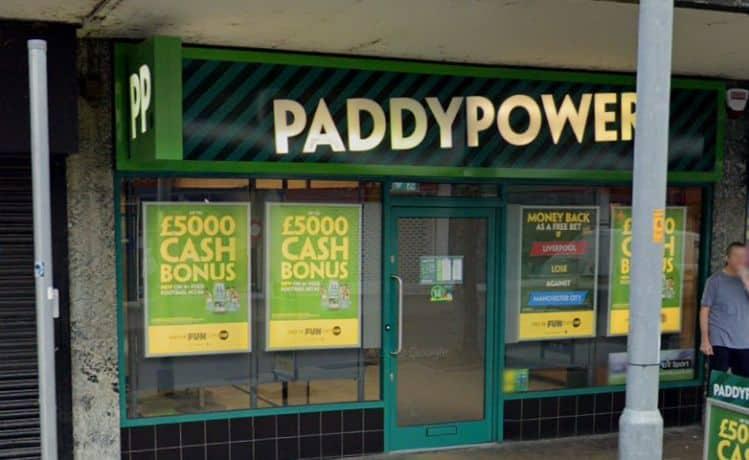 Paddy Power Betting Shop Ashton-under-Lyne Warrington Street