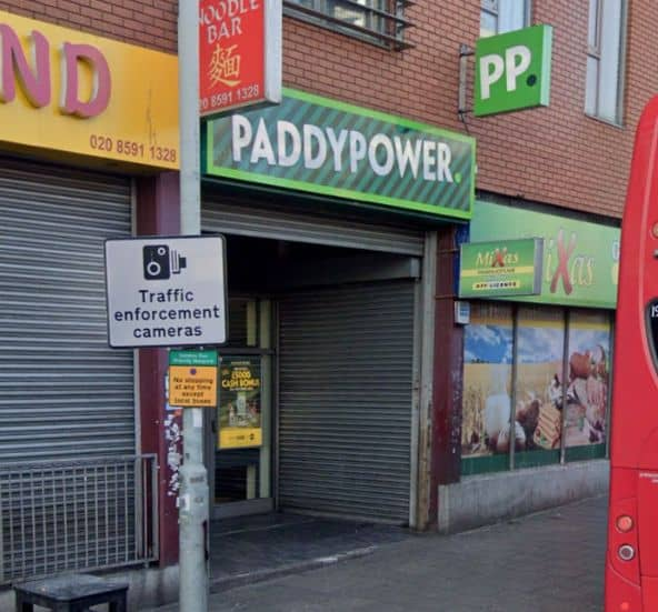 Paddy Power Betting Shop Barking Longbridge Road