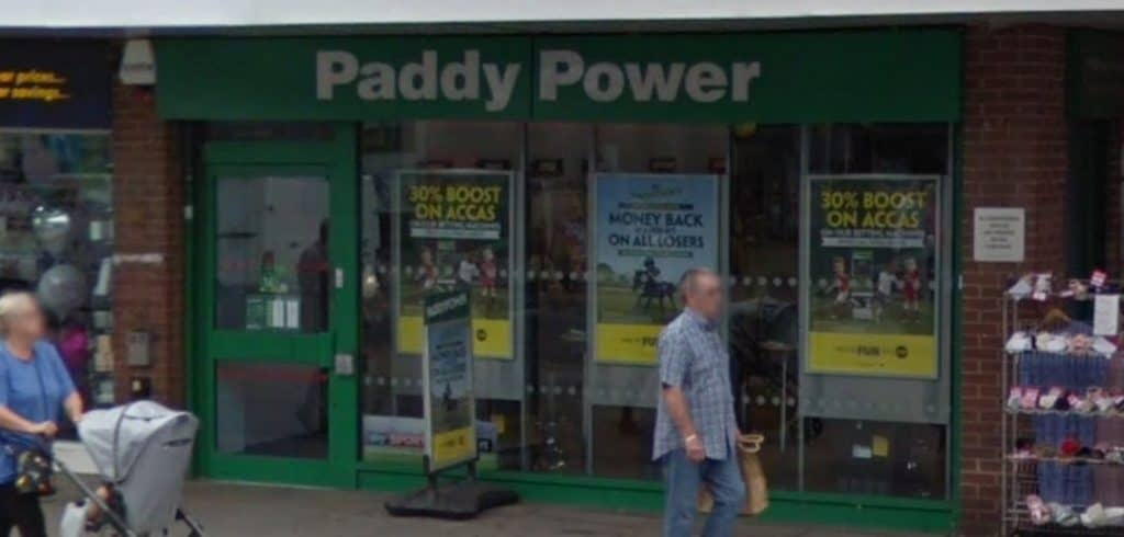 Paddy Power Betting Shop Canvey Island Furtherwick Road