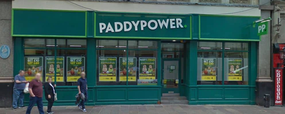 Paddy Power Betting Shop Cardiff St Mary Street