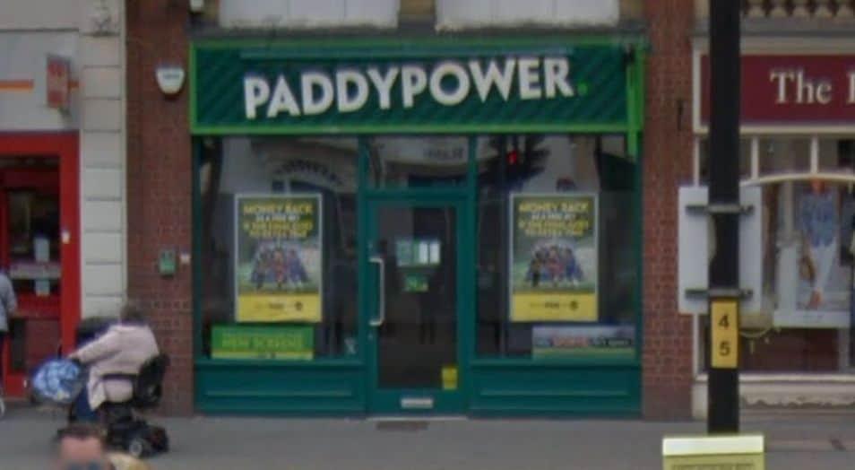 Paddy Power Betting Shop Evesham High Street