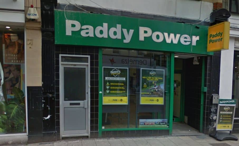 Paddy Power Betting Shop Gillingham High Street