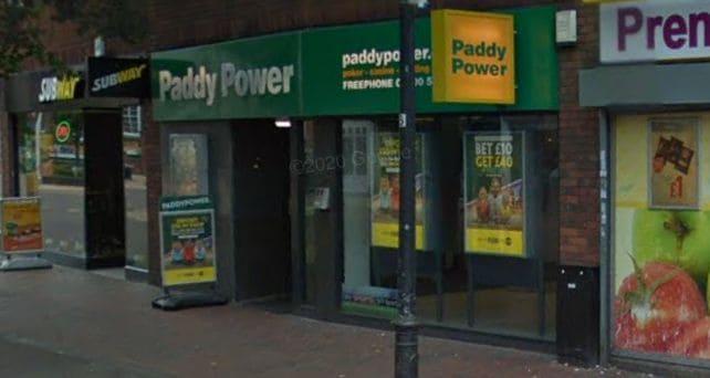 Paddy Power Betting Shop Grays High Street