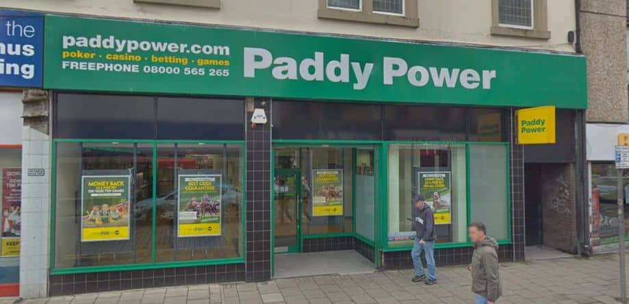 Paddy Power Betting Shop Greenock Blackhall Street