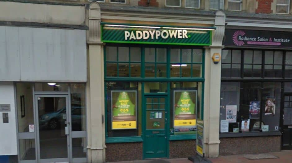 Paddy Power Betting Shop Rochester High Street