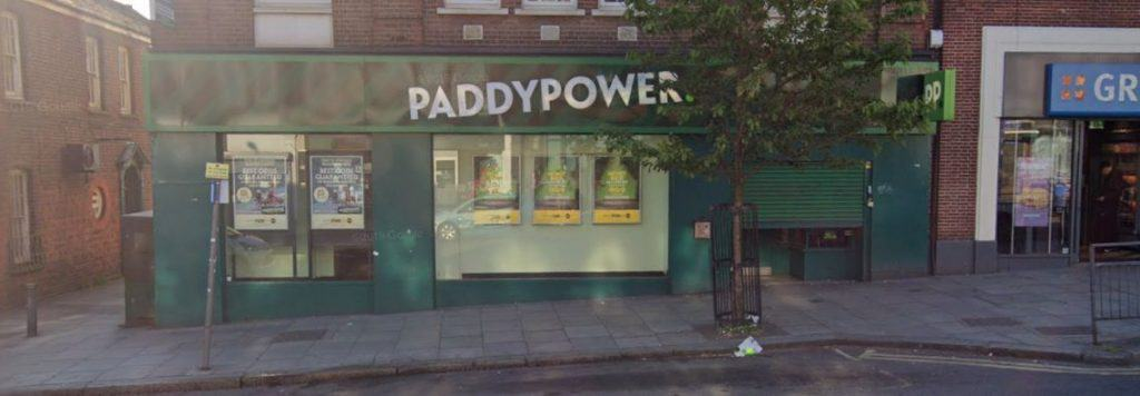 Paddy Power Betting Shop Edgware Station Road