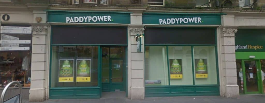 Paddy Power Betting Shop Inverness Queensgate