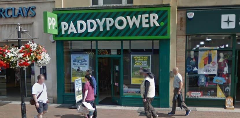 Paddy Power Betting Shop Taunton North Street