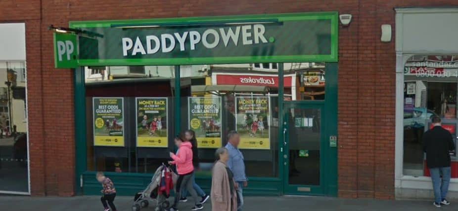 Paddy Power Betting Shop Colchester High Street