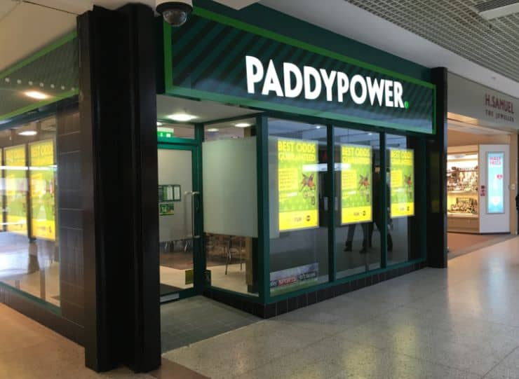 Paddy Power Betting Shop Glenrothes Lyon Way