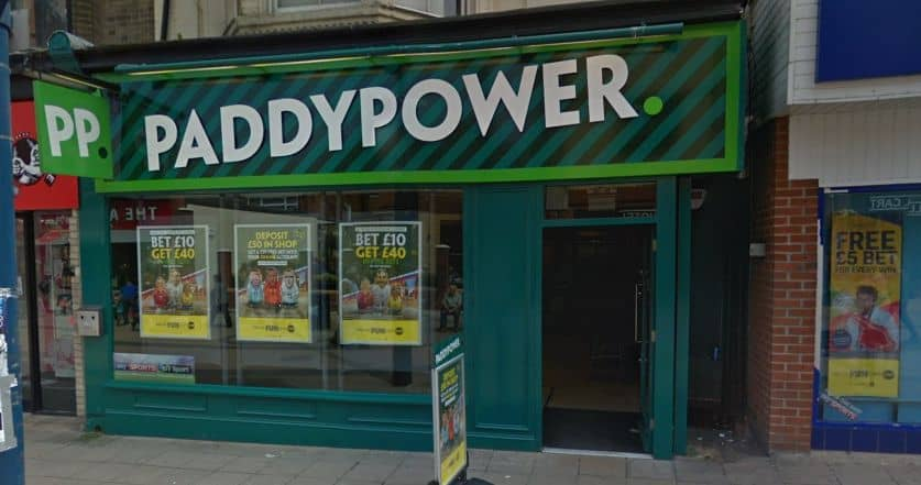 Paddy Power Betting Shop Great Yarmouth Regent Road