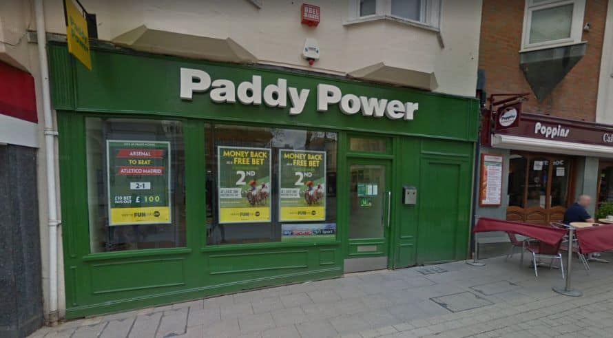 Paddy Power Betting Shop Basingstoke Market Place