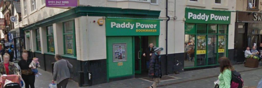 Paddy Power Betting Shop Liverpool Richmond Street
